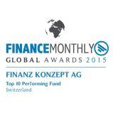 Financemonthly Global Awards 2015 Top 10